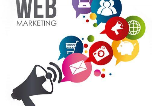 Marketing design over white background, vector illustration